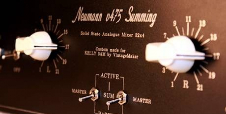 2u 32 input summing mixer neumann